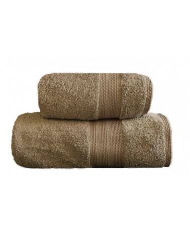 Ręcznik kąpielowy, łazienkowy, 100% bawełniany brąz