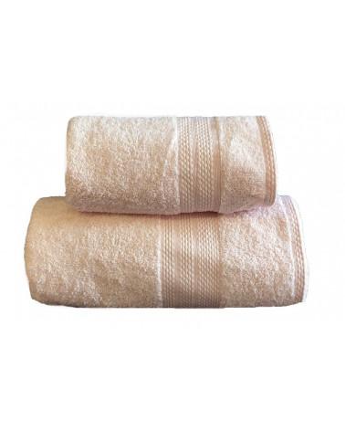 Ręcznik kąpielowy, łazienkowy, 100% bawełniany pudrowy róż