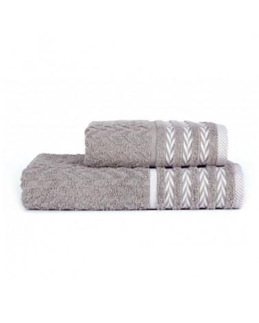 Ręcznik kąpielowy, łazienkowy, 100% bawełniany Szary