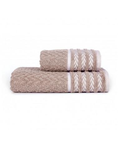 Ręcznik kąpielowy, łazienkowy, 100% bawełniany Beż