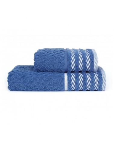 Ręcznik kąpielowy, łazienkowy, 100% bawełniany Niebieski