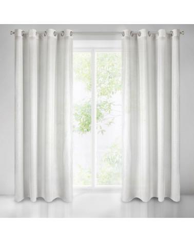 Firana, ozdoba okienna ELICIA 140x250 Eurofirany, Biały