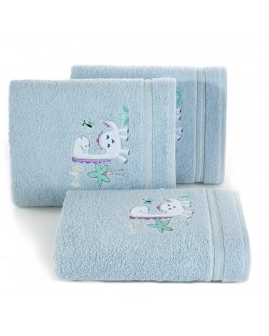 Ręcznik dla dzieci BABY30 Eurofirany 450gsm Niebieski
