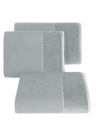 Ręcznik LUCY Eurofirany Srebrny 100% Bawełna