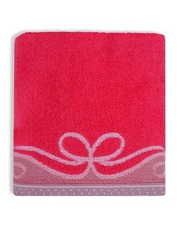 Ręcznik ARCO GRENO Malinowy 100% Bawełna