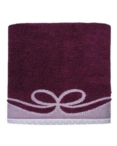 Ręcznik ARCO GRENO Śliwka 100% Bawełna