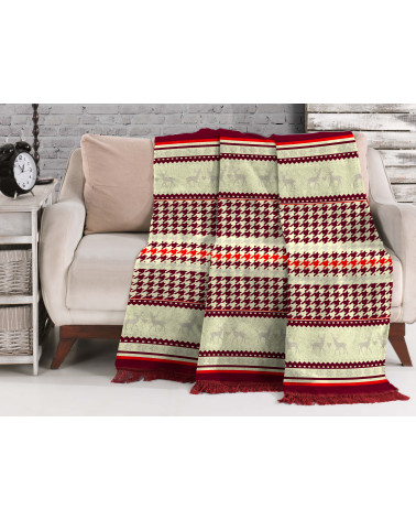 Koc świąteczny bawełna 150x200 15175c Darymex