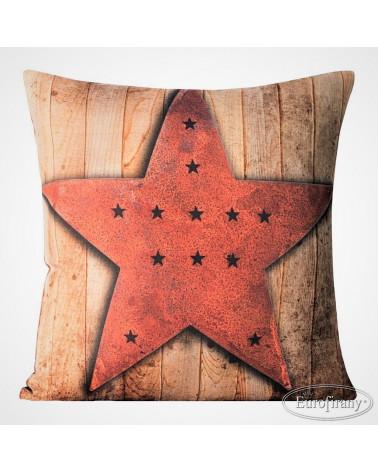 Poszewka świateczna 40x40 STAR 11 Eurofirany  Poszewka świateczna 40x40 STAR 11 Eurofirany