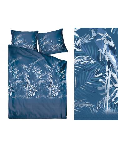 Pościel Satynowa Greno Gold Line 160x200 Liv Insignia Ballad Blue