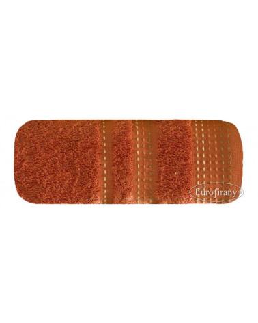 Ręcznik frotte POLA Eurofirany dwa rozmiary pomarańcz  Ręcznik POLA Eurofirany