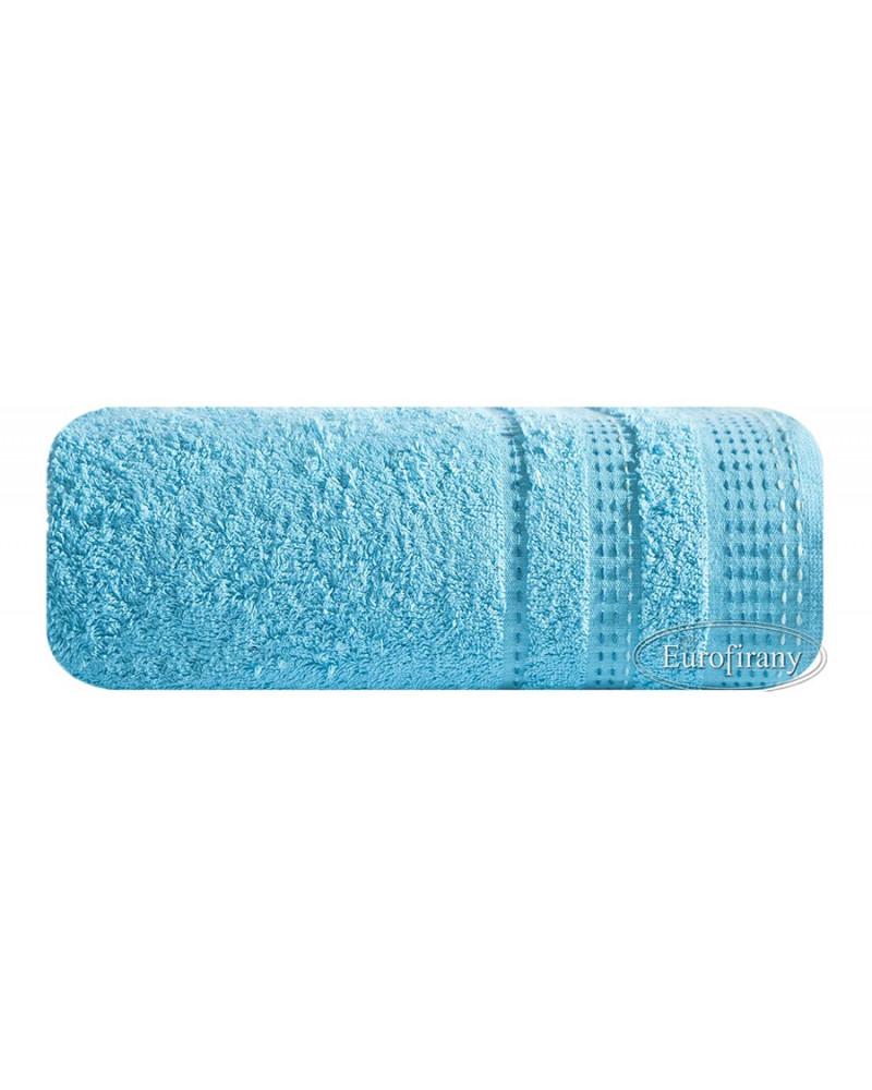 Ręcznik frotte 70x140 POLA Eurofirany niebieski Ręcznik POLA Eurofirany