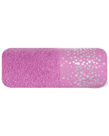Ręcznik frotte DORIN Eurofirany dwa rozmiary amarant  Ręcznik DORIN Eurofirany