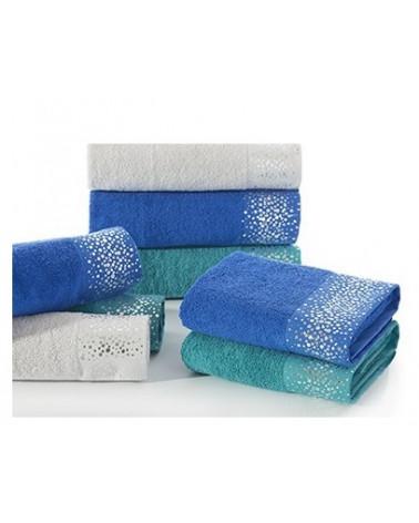 Ręcznik frotte 70x140 DORIN Eurofirany Srebrny