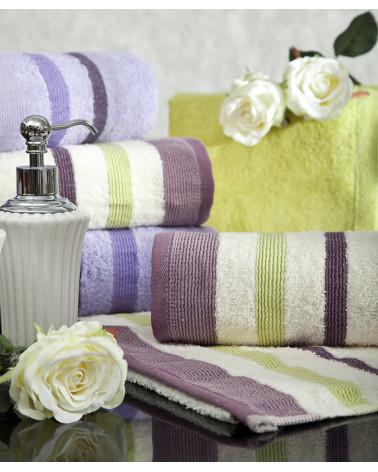 Ręcznik bawełniany 50x90 METROPOLITAN Eurofirany brązowy