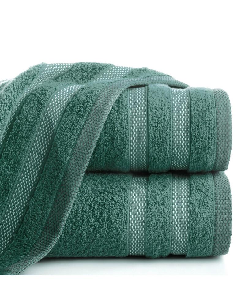 Ręcznik frotte RIKI Eurofirany 100% Bawełna C.Zielony dwa rozmiary