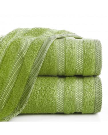 Ręcznik frotte RIKI Eurofirany 100% Bawełna Oliwkowy dwa rozmiary