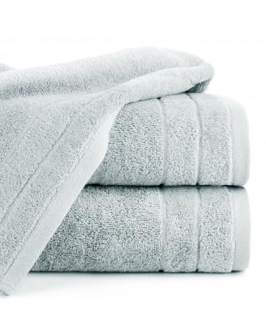 Ręcznik frotte DAMLA Eurofirany 100% Bawełna Srebrny dwa rozmiary