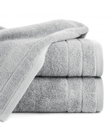 Ręcznik frotte DAMLA Eurofirany 100% Bawełna Stalowy dwa rozmiary