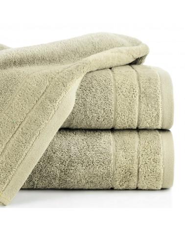 Ręcznik frotte DAMLA Eurofirany 100% Bawełna Beżowy dwa rozmiary