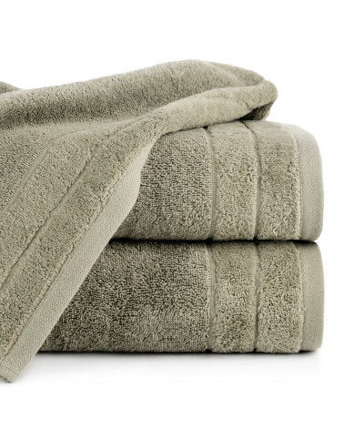 Ręcznik frotte DAMLA Eurofirany 100% Bawełna J.Brąz dwa rozmiary