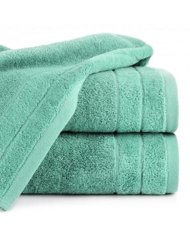 Ręcznik frotte DAMLA Eurofirany 100% Bawełna Miętowy dwa rozmiary
