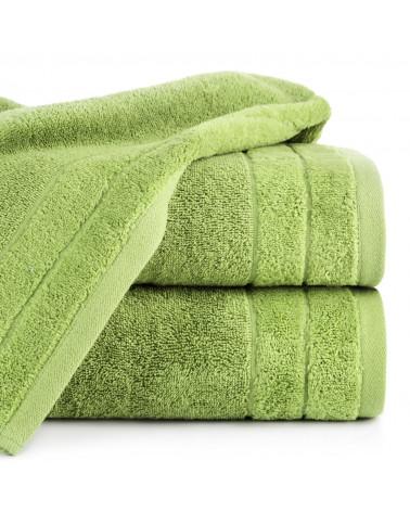Ręcznik frotte DAMLA Eurofirany 100% Bawełna Oliwka dwa rozmiary