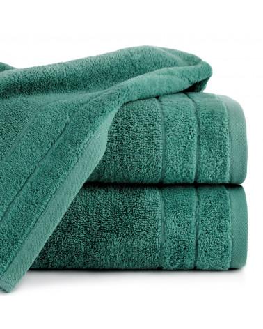 Ręcznik frotte DAMLA Eurofirany 100% Bawełna C.Zielony dwa rozmiary