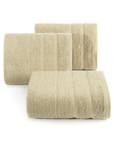 Ręcznik frotte KOLI 100x150 Eurofirany 100% Bawełna Beż