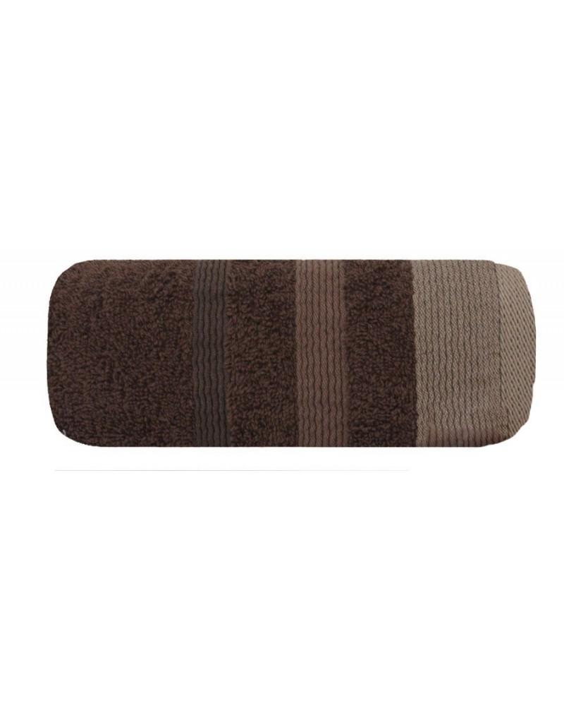 Ręcznik frotte 50x90 METROPOLITAN Eurofirany brązowy Ręcznik METROPOLITAN Eurofirany