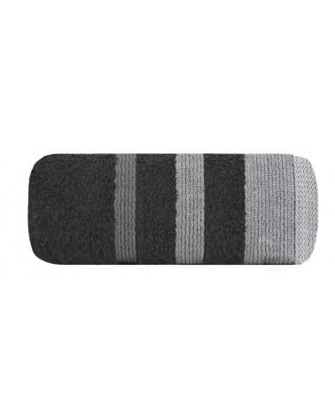 Ręcznik bawełniany 50x90 METROPOLITAN Eurofirany czarny Ręcznik METROPOLITAN Eurofirany
