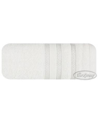Ręcznik frotte JUDY Eurofirany dwa rozmiary kremowy  Ręcznik JUDY Eurofirany