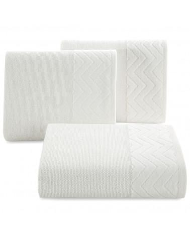 Ręcznik ZOE Eurofirany Biały 100% Bawełna trzy rozmiary