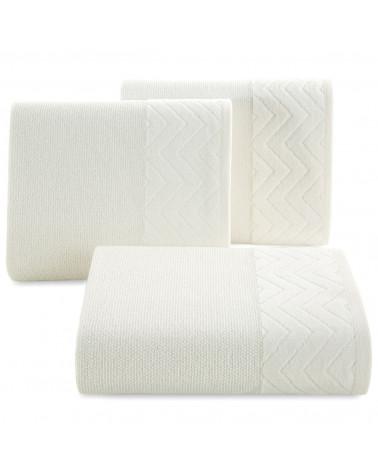 Ręcznik ZOE Eurofirany Krem 100% Bawełna trzy rozmiary