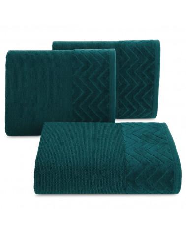 Ręcznik ZOE Eurofirany C.Turkus 100% Bawełna trzy rozmiary