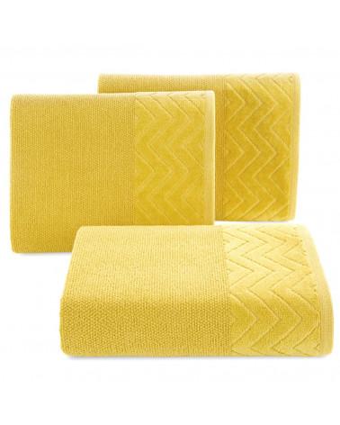 Ręcznik ZOE Eurofirany Musztarda 100% Bawełna trzy rozmiary