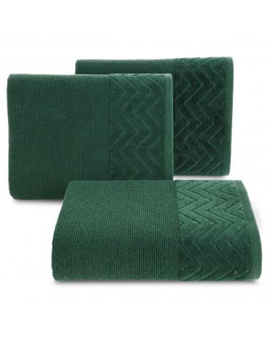 Ręcznik ZOE Eurofirany C.Zielony 100% Bawełna trzy rozmiary