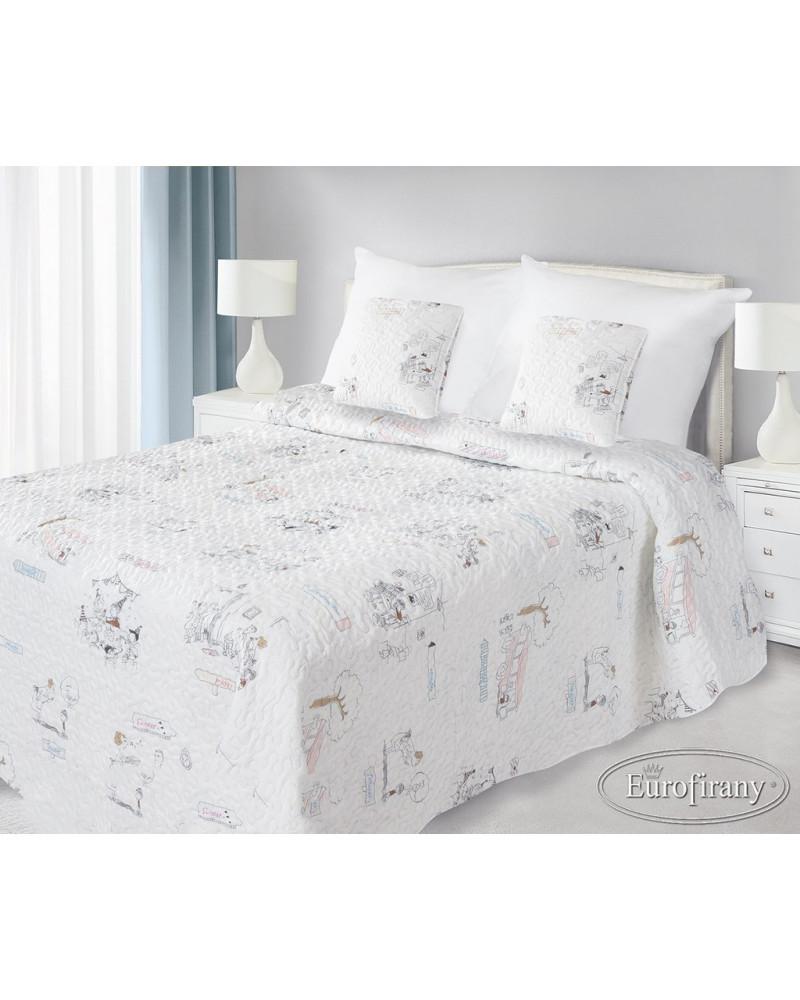 Narzuta na łóżko 170x210 STORY Eurofirany Narzuta na łóżko 170x210