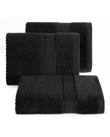 Ręcznik bawełniany JESSI Eurofirany Czarny