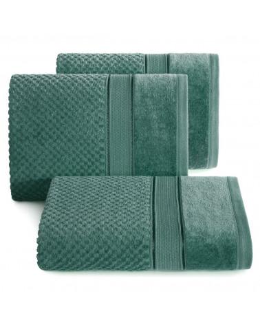 Ręcznik bawełniany JESSI Eurofirany C.Zielony
