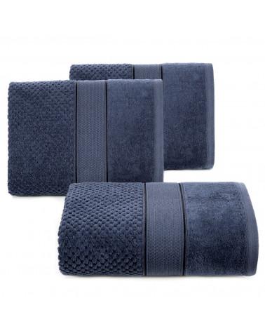 Ręcznik bawełniany JESSI Eurofirany Granatowy