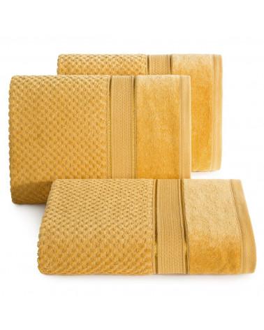 Ręcznik bawełniany JESSI Eurofirany Musztardowy