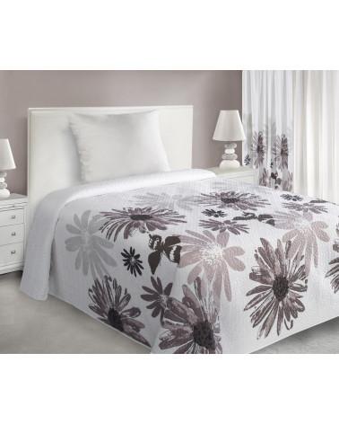 Narzuta na łóżko 170x210 MARGARITA Eurofirany Brązowa