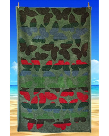 Ręcznik plażowy kąpielowy 90x170 bawełna egipska PL7  Ręcznik plażowy kąpielowy 90x170 bawełna egipska PL7