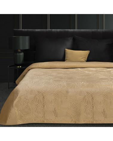 Narzuta na łóżko 220x240 MUSA Eurofirany Beżowa