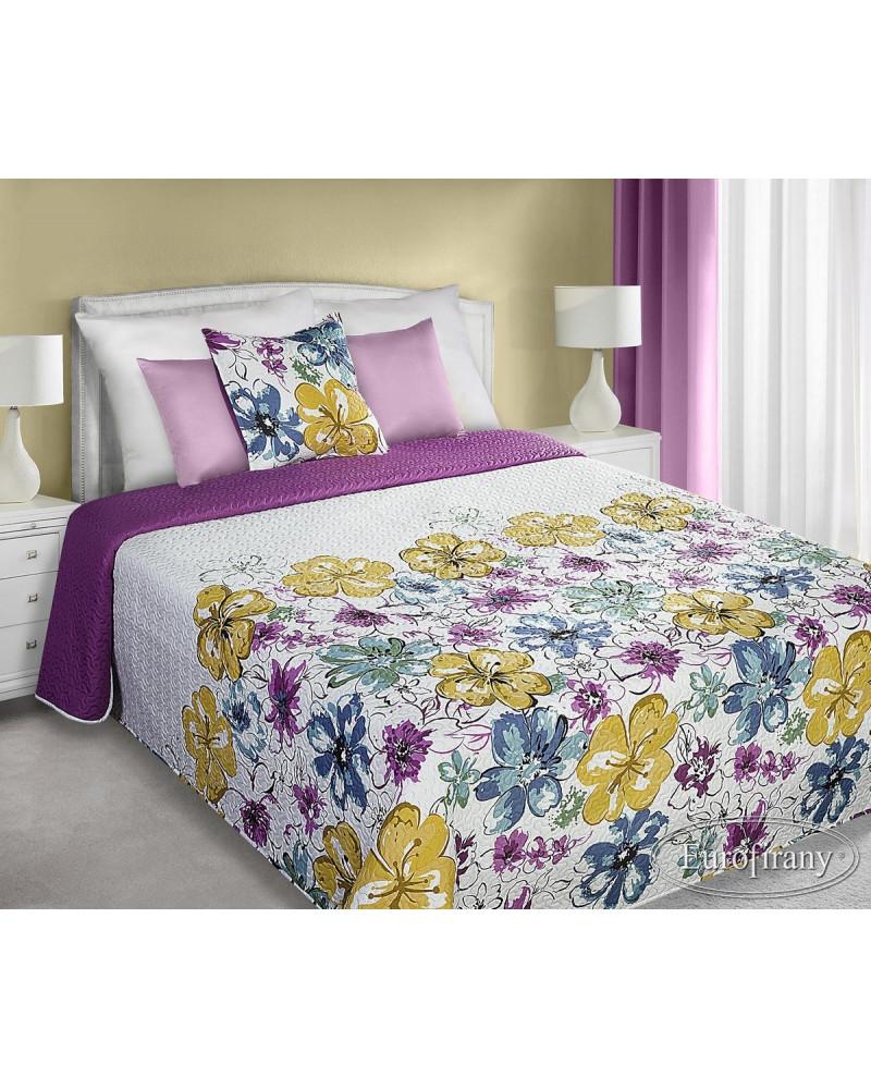 Narzuta na łóżko BLANCA Eurofirany dwa rozmiary Narzuta ALBINA Eurofirany