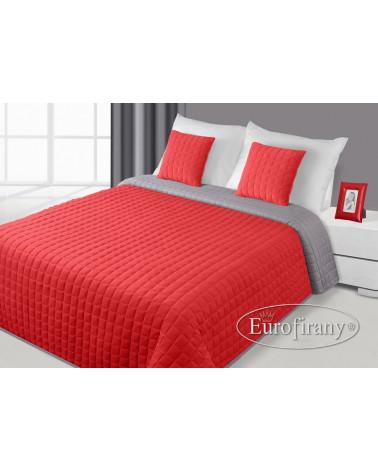 Narzuta welurowa na łóżko PAULA Eurofirany Czerwony