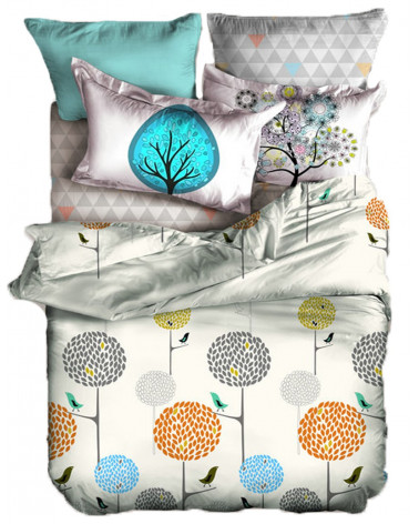 Narzuta na łóżko 220x240 + 2x 40x40