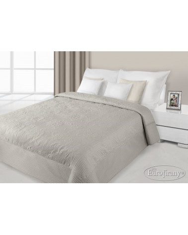 Narzuta na łóżko LAURA Eurofirany Kawa 170x210