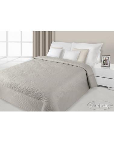 Narzuta na łóżko 170x210 LAURA Eurofirany Kawa  Narzuta na łóżko LAURA Eurofirany Kawa 170x210