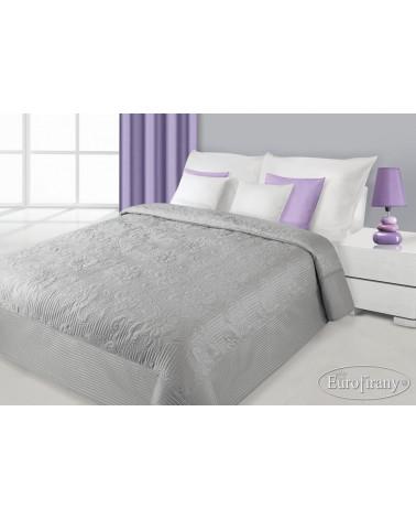 Narzuta na łóżko LAURA Eurofirany srebrna dwa rozmiary Narzuta na łóżko LAURA Eurofirany
